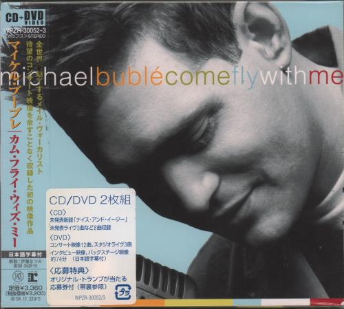 Michael Buble Come Fly With Me 2-disc CD/DVD set Japanese M6Y2DCO327572