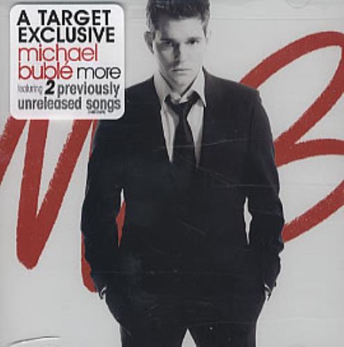 "Michael Buble More CD single (CD5 / 5"") US M6YC5MO319307"