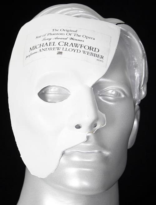 Michael Crawford Phantom Of The Opera memorabilia US MCWMMPH454967