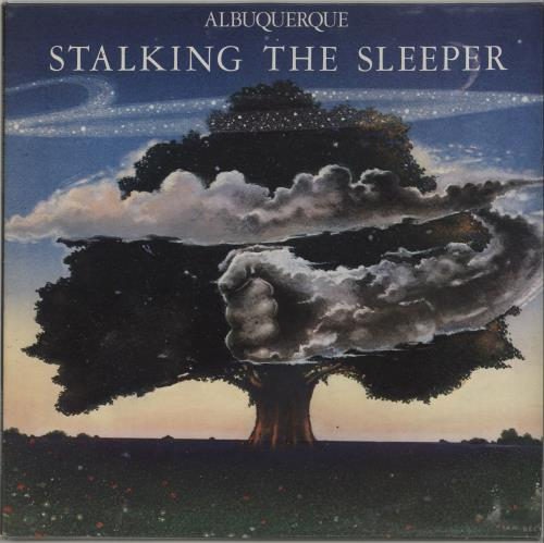Michael D'Albuqerque Stalking The Sleeper vinyl LP album (LP record) UK O0ILPST674822