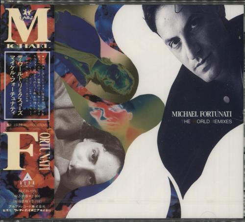 Michael Fortunati The World Remixes Japanese Promo CD album (CDLP)