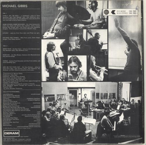 Michael Gibbs Michael Gibbs - EX vinyl LP album (LP record) UK MQZLPMI445251