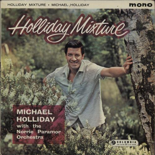 Michael Holliday Holliday Mixture vinyl LP album (LP record) UK HO-LPHO763662