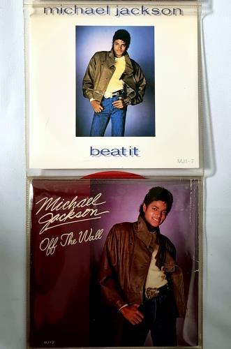 "Michael Jackson 9 Singles Pack 7"" vinyl single (7 inch record) UK M-J07SI259974"