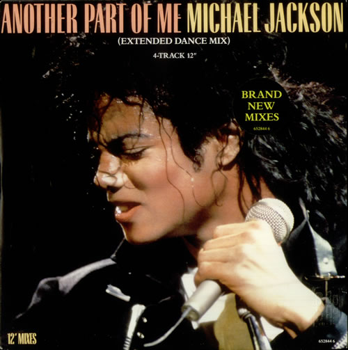 """Michael Jackson Another Part Of Me - Stickered 12"""" vinyl single (12 inch record / Maxi-single) UK M-J12AN548224"""