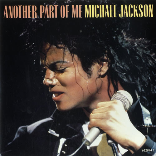 """Michael Jackson Another Part Of Me 7"""" vinyl single (7 inch record) UK M-J07AN33901"""