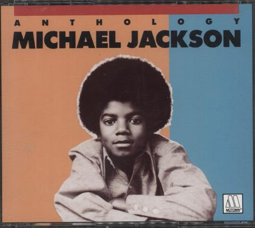 Michael Jackson Anthology 2 CD album set (Double CD) German M-J2CAN710767