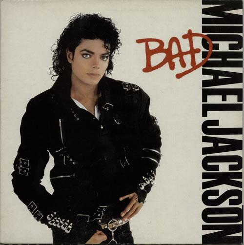 Michael Jackson Bad - EX vinyl LP album (LP record) UK M-JLPBA231401
