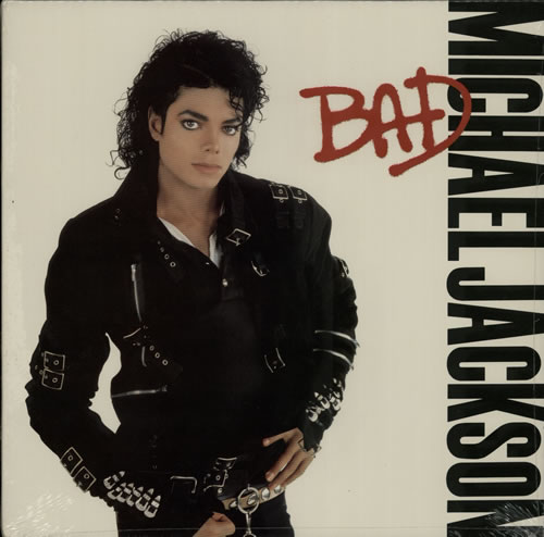 Michael Jackson Bad - Sealed vinyl LP album (LP record) US M-JLPBA594525
