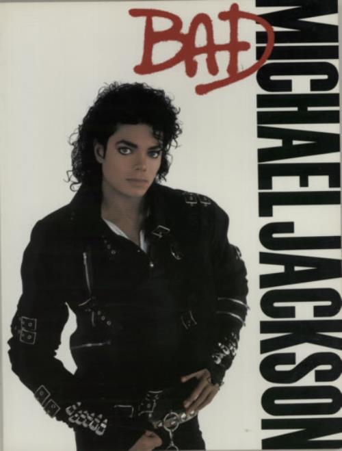 Michael Jackson Bad book US M-JBKBA621063