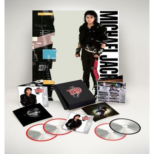 Michael Jackson BAD25 - Sealed box set UK M-JBXBA570187