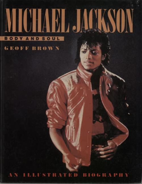Michael Jackson Body And Soul book UK M-JBKBO126254