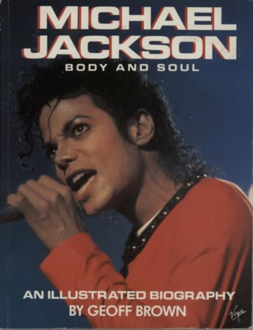 Michael Jackson Body And Soul book UK M-JBKBO622205