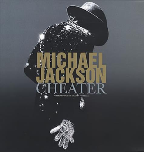 "Michael Jackson Cheater 12"" vinyl single (12 inch record / Maxi-single) UK M-J12CH312031"