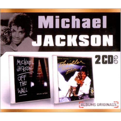 Michael Jackson Coffret 2 CD 2 CD album set (Double CD) French M-J2CCO419296