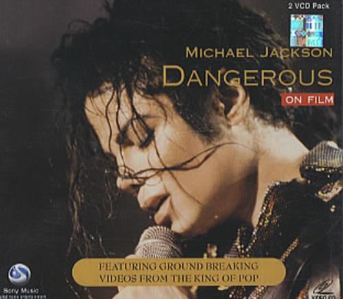 Michael Jackson Dangerous On Film Indian Video CD (325219)