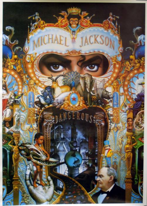 Michael Jackson Dangerous Uk Promo Poster 624447