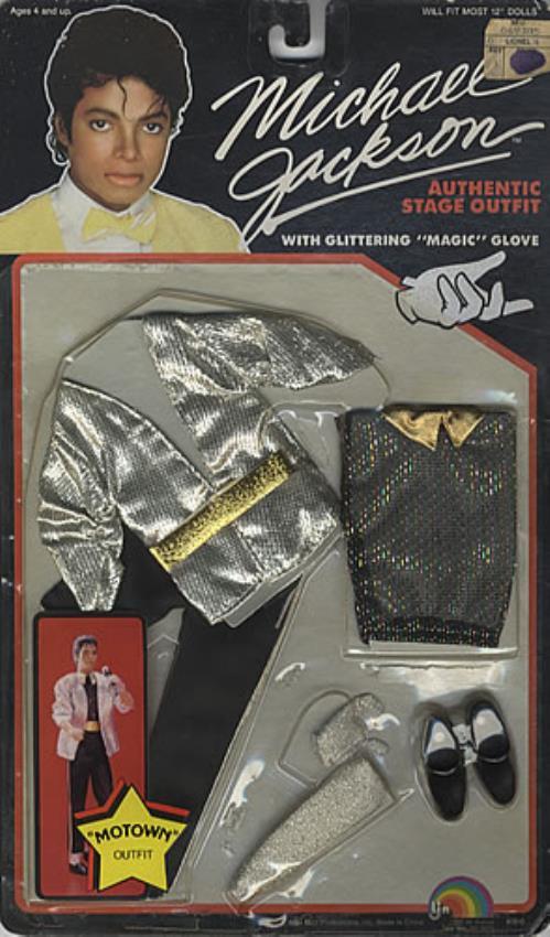 Michael Jackson Doll Stage Outfit - Motown memorabilia US M-JMMDO75669