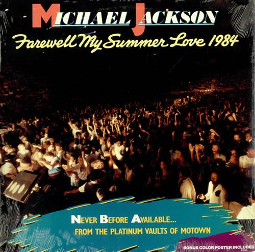 Michael Jackson Farewell My Summer Love - Sealed vinyl LP album (LP record) US M-JLPFA488475