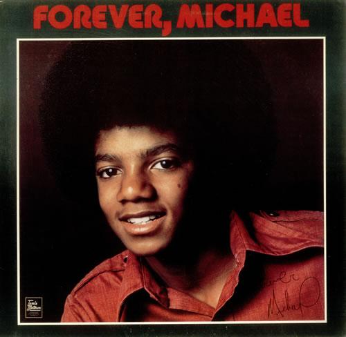 Michael Jackson Forever, Michael - Factory Sample UK vinyl