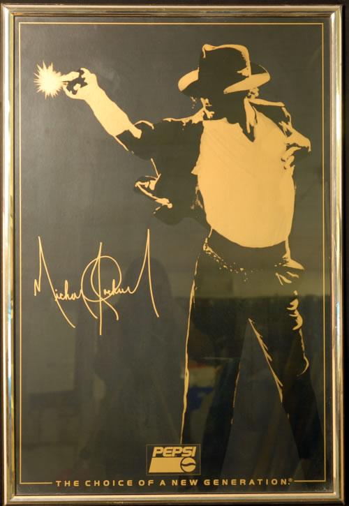 Michael Jackson Framed Commemorative Poster poster UK M-JPOFR624379