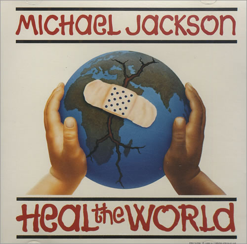 "Michael Jackson Heal The World CD single (CD5 / 5"") US M-JC5HE11361"