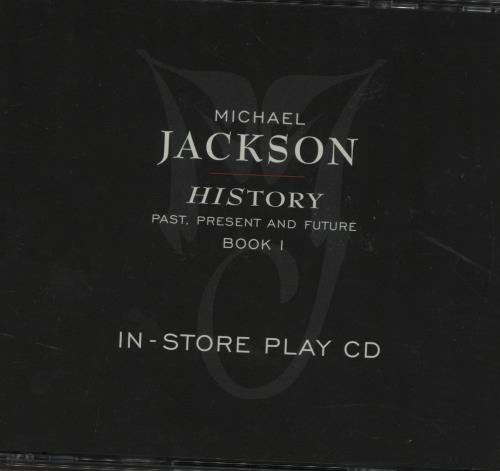 Michael Jackson History Instore Play CD 2 CD album set (Double CD) US M-J2CHI50154