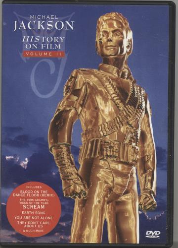 Michael Jackson HIStory On Film Volume 2 UK DVD (231834)