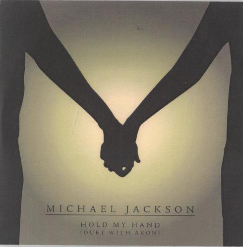 Michael Jackson Hold My Hand CD-R acetate UK M-JCRHO767078