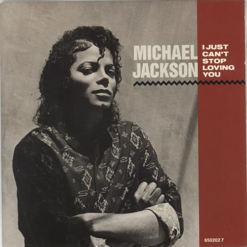 "Michael Jackson I Just Can't Stop Loving You 7"" vinyl single (7 inch record) Dutch M-J07IJ37113"