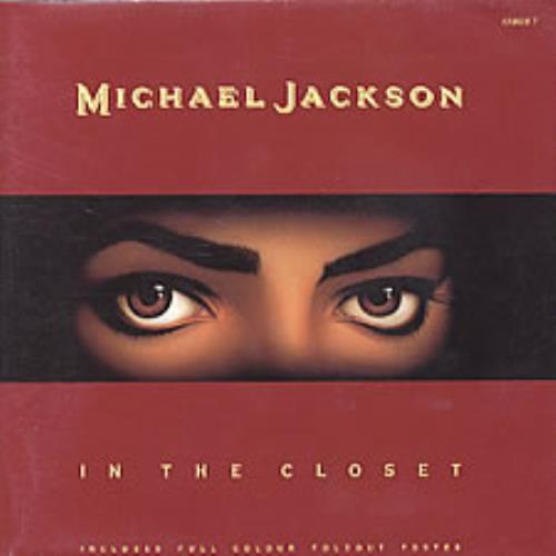 "Michael Jackson In The Closet - Fold-Out Poster Sleeve 7"" vinyl single (7 inch record) UK M-J07IN06146"