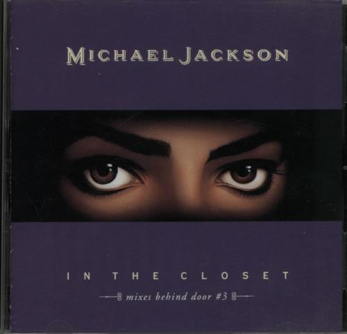 "Michael Jackson In The Closet - Mixes Behind Door 3 CD single (CD5 / 5"") Japanese M-JC5IN05685"