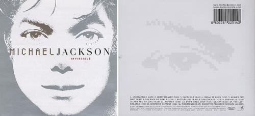 michael jackson invincible korean 2disc cddvd set 394029