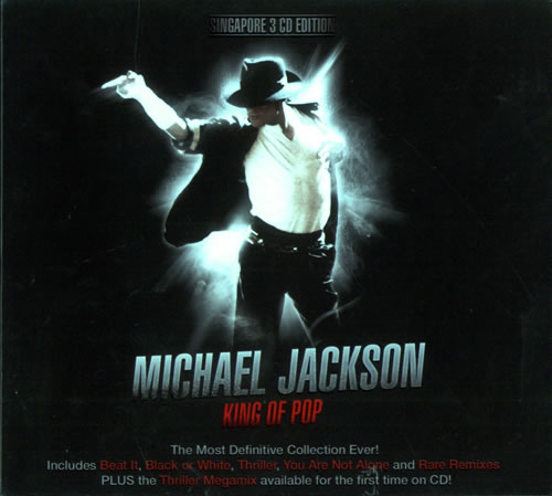 Michael Jackson King Of Pop Singapore 3 Cd Album Set