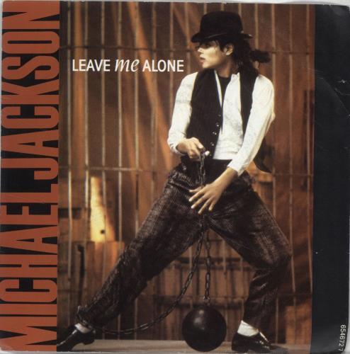 "Michael Jackson Leave Me Alone 7"" vinyl single (7 inch record) UK M-J07LE33900"