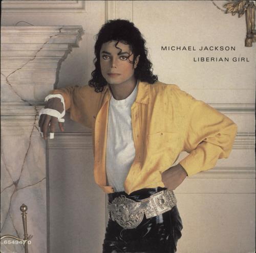 "Michael Jackson Liberian Girl - EX 7"" vinyl single (7 inch record) UK M-J07LI255758"