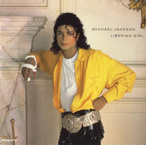 "Michael Jackson Liberian Girl 7"" vinyl single (7 inch record) UK M-J07LI30604"