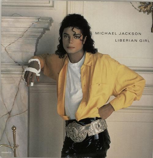 "Michael Jackson Liberian Girl 12"" vinyl single (12 inch record / Maxi-single) UK M-J12LI33451"