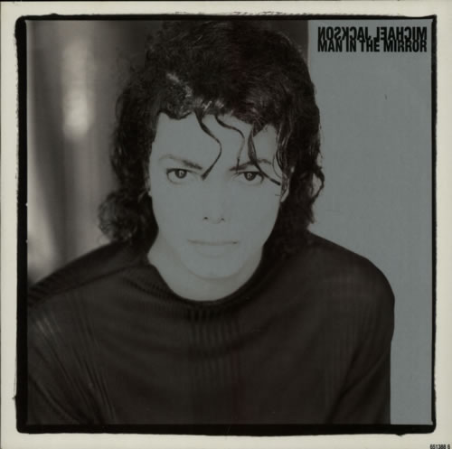 "Michael Jackson Man In The Mirror 12"" vinyl single (12 inch record / Maxi-single) UK M-J12MA15301"