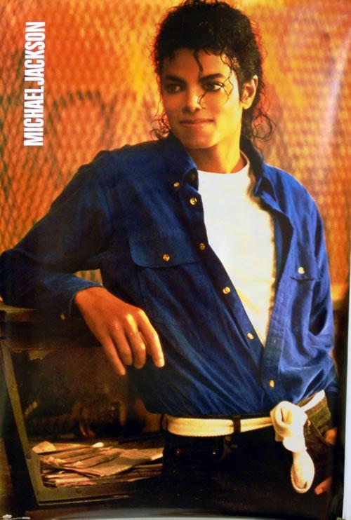 Michael Jackson Michael Jackson by Sam Emerson poster Dutch M-JPOMI632534