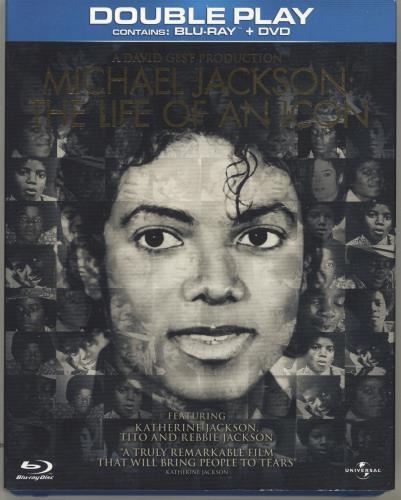 Michael Jackson Michael Jackson: The Life Of An Icon Blu Ray DVD UK M-JBRMI695796