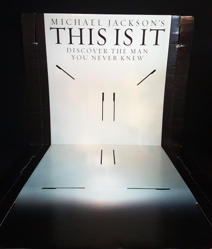 Michael Jackson Michael Jackson's This Is It - Display Lot display UK M-JDIMI698827