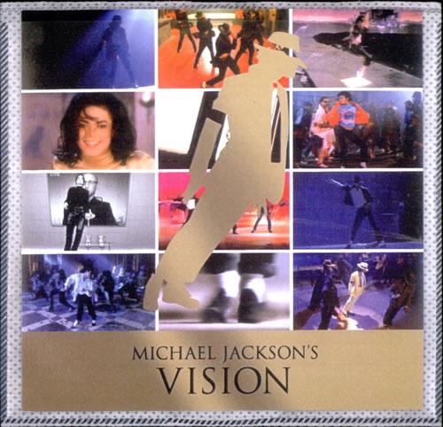 Michael Jackson Michael Jackson's Vision promo DVD-R US M-JDRMI524824