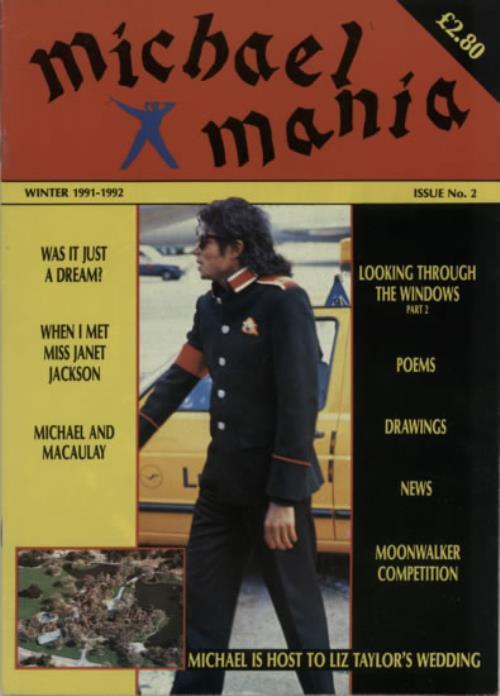 Michael Jackson Michael Mania fanzine UK M-JFAMI622733