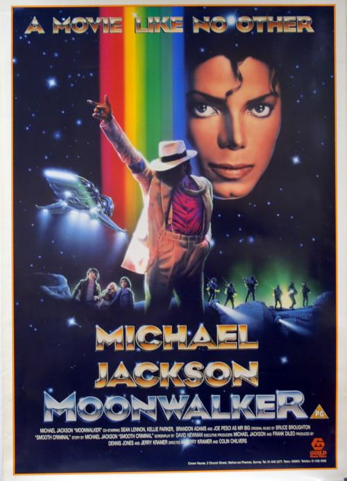 Michael Jackson Moonwalker - A Movie Like No Other poster UK M-JPOMO144301