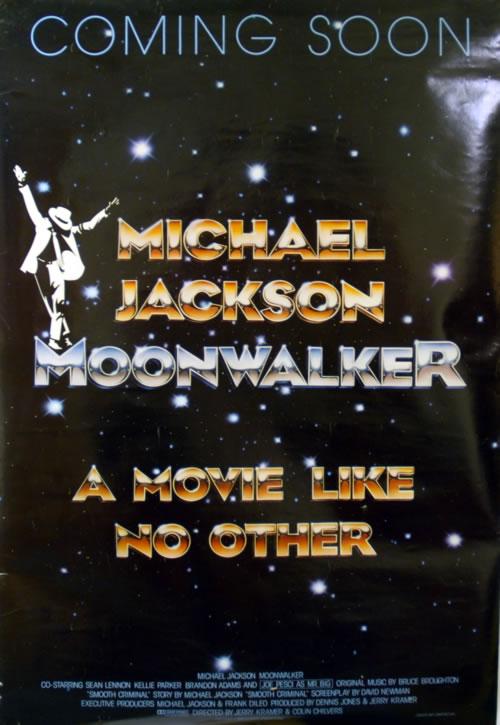Michael Jackson Moonwalker - A Movie Like No Other poster UK M-JPOMO624374