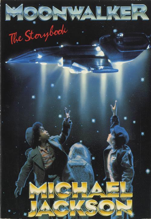 Michael Jackson Moonwalker - The Storybook book UK M-JBKMO48592
