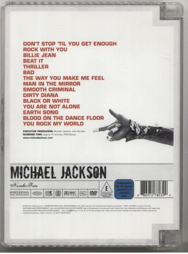 Michael Jackson Number Ones [Visual Milestones Series] UK DVD