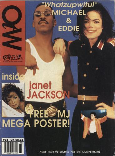 Michael Jackson Off The Wall - Four Issues (1993-94) fanzine UK M-JFAOF767064
