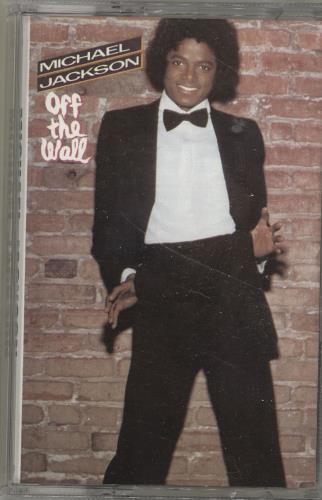 Michael Jackson Off The Wall cassette album Dutch M-JCLOF695781